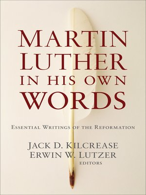 cover image of Martin Luther in His Own Words