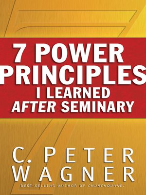 cover image of 7 Power Principles I Learned After Seminary