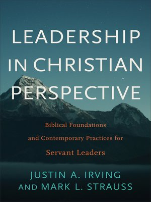cover image of Leadership in Christian Perspective