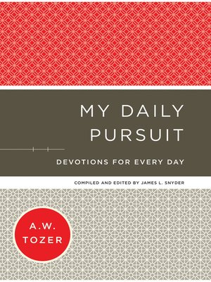 cover image of My Daily Pursuit