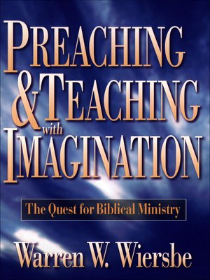 cover image of Preaching and Teaching with Imagination