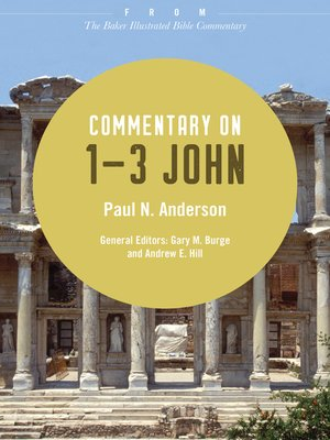 cover image of Commentary on 1-3 John