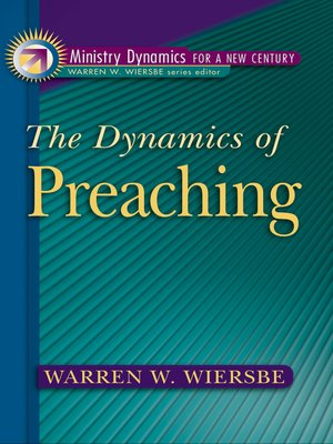 cover image of The Dynamics of Preaching