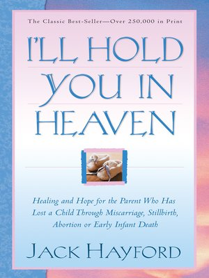 cover image of I'll Hold You in Heaven