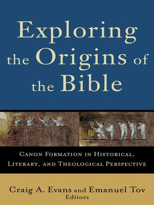 cover image of Exploring the Origins of the Bible