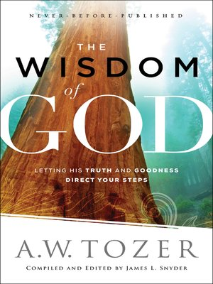cover image of The Wisdom of God