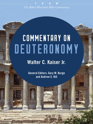 cover image of Commentary on Deuteronomy
