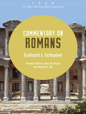 cover image of Commentary on Romans