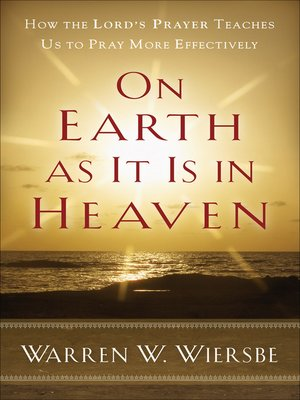 cover image of On Earth as It Is in Heaven