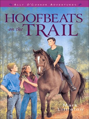 cover image of Hoofbeats on the Trail