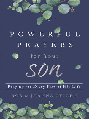 cover image of Powerful Prayers for Your Son
