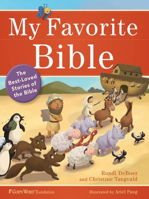 cover image of My Favorite Bible