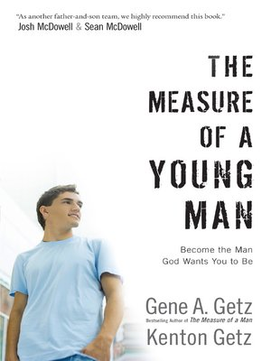 cover image of The Measure of a Young Man