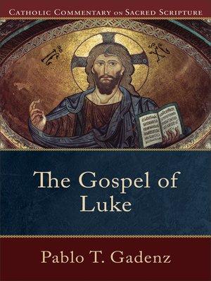 cover image of The Gospel of Luke