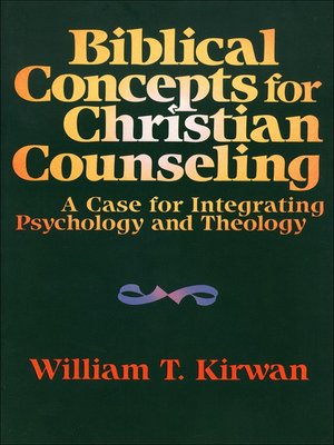 cover image of Biblical Concepts for Christian Counseling