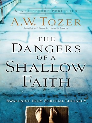 cover image of The Dangers of a Shallow Faith
