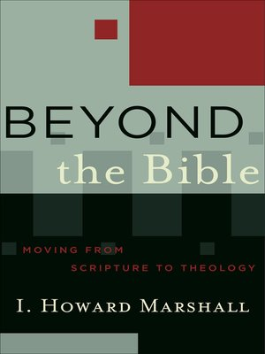cover image of Beyond the Bible