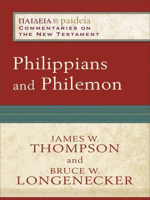 cover image of Philippians and Philemon