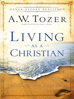 cover image of Living as a Christian