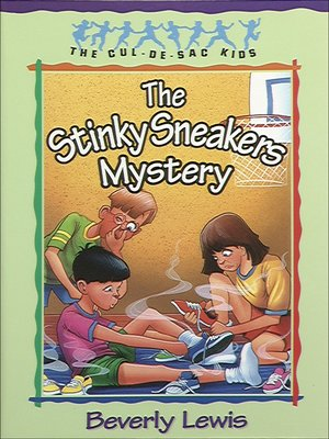 cover image of The Stinky Sneakers Mystery