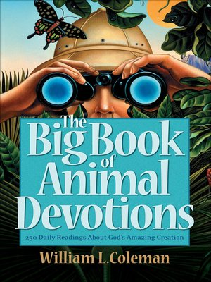 cover image of The Big Book of Animal Devotions
