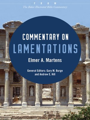 cover image of Commentary on Lamentations