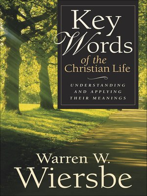 cover image of Key Words of the Christian Life