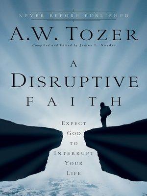 cover image of A Disruptive Faith