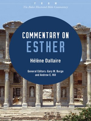 cover image of Commentary on Esther
