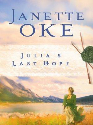 cover image of Julia's Last Hope