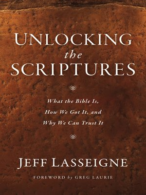 cover image of Unlocking the Scriptures