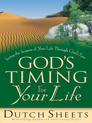cover image of God's Timing for Your Life
