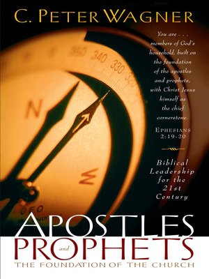cover image of Apostles and Prophets