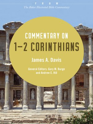 cover image of Commentary on 1-2 Corinthians