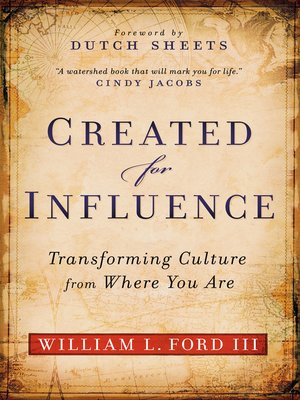 cover image of Created for Influence