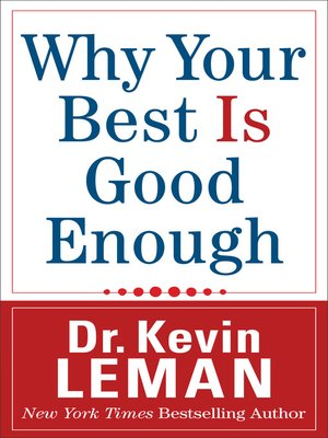 cover image of Why Your Best Is Good Enough