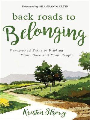 cover image of Back Roads to Belonging