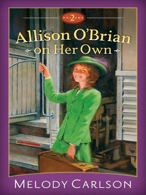 cover image of Allison O'Brian on Her Own, Volume 2