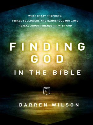 cover image of Finding God in the Bible