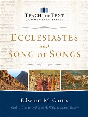 cover image of Ecclesiastes and Song of Songs