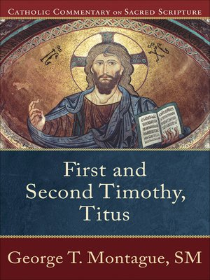 cover image of First and Second Timothy, Titus
