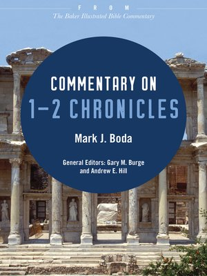 cover image of Commentary on 1-2 Chronicles