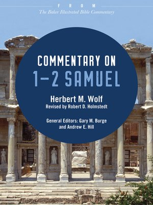 cover image of Commentary on 1-2 Samuel