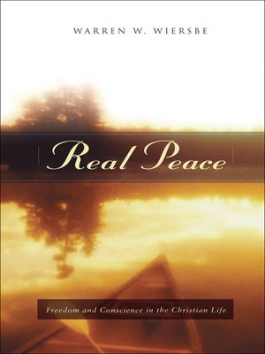 cover image of Real Peace