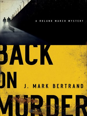 cover image of Back on Murder