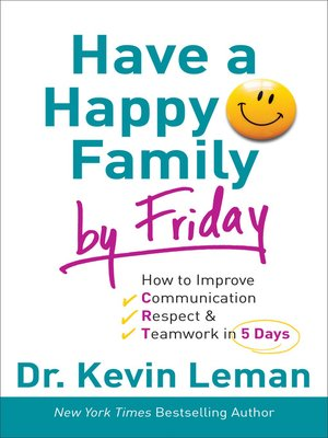 cover image of Have a Happy Family by Friday