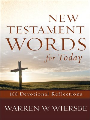 cover image of New Testament Words for Today