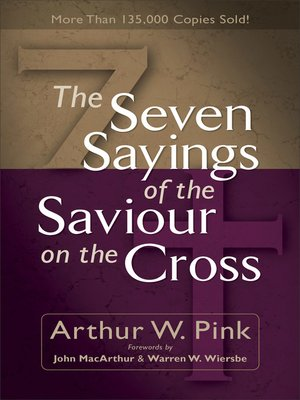 cover image of The Seven Sayings of the Saviour on the Cross