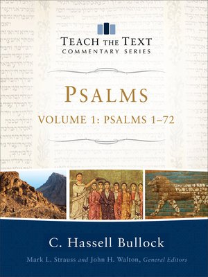 cover image of Psalms, Volume 1