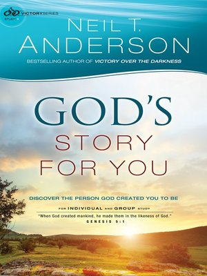 cover image of God's Story for You--Discover the Person God Created You to Be